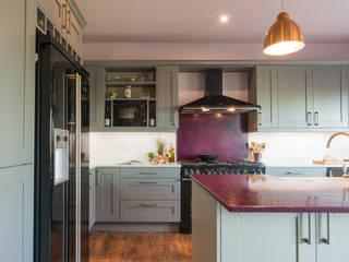 Bold Contemporary Kitchen - Sheffield Sustainable Kitchens Sheffield Sustainable Kitchens Modern kitchen