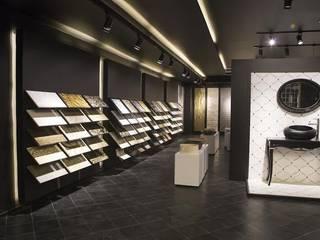 Veromar Mermer Showroom VEROMAR Luxury Marble Tiles & Mosaics Modern Sergi Alanları