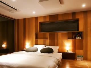Dormitorios de estilo  de 비온후풍경 ㅣ J2H Architects