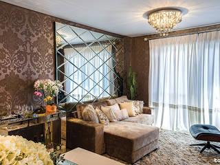 Sala: Salas de estar  por Talita - Fotografia de Arquitetura e Decoração,Moderno