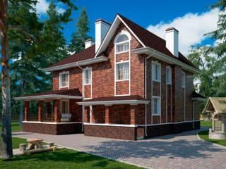 Мюнхен_418 кв.м.: Дома в . Автор – Vesco Construction