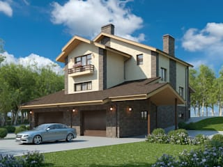 Сиера_530 кв.м. Дома в классическом стиле от Vesco Construction Классический