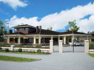 Фьюжн-3_800 кв.м.: Дома в . Автор – Vesco Construction