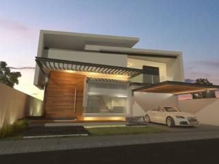 Casa Talavera Casas modernas de AParquitectos Moderno