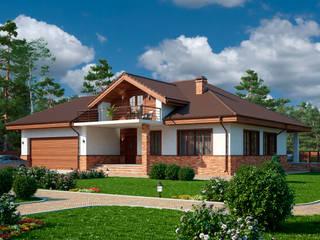 Марини_256 кв.м.: Дома в . Автор – Vesco Construction,