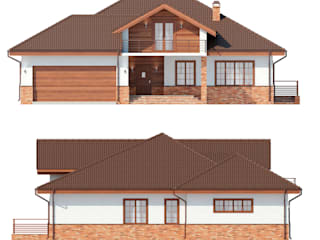 Марини_256 кв.м.: Дома в . Автор – Vesco Construction