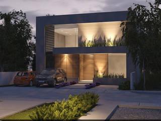 Casa Cardelle Casas modernas de AParquitectos Moderno