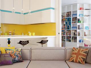 Проект кухни Скаволини Кухня в стиле минимализм от NABOKOFF английские интерьеры Минимализм