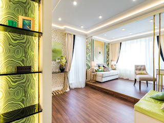 Tony House Interior Design & Decoration Ruang Keluarga Tropis