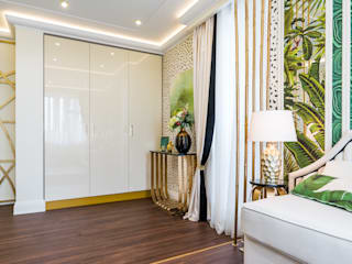 Salas de estar tropicais por Tony House Interior Design & Decoration Tropical