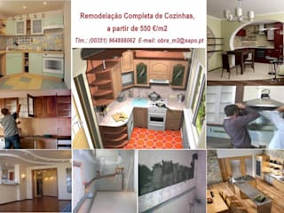 Remodelação - Restauro geral de COZINHAS, desde 550€/m2.:   por 'PRESTIGIO'   OBRAS: Construção, Alteração, Remodelação e reabilitação, ...  Manutenção.