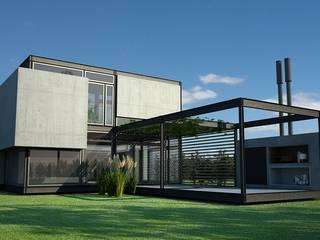 MKIT - 3D - 325:  de estilo  por metodokit - vivienda suburbana