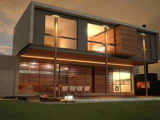 modern  by metodokit - vivienda suburbana, Modern