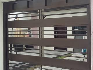 Elite Puertas Automaticas Garage / Hangar modernes Fer / Acier Marron