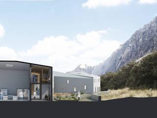 Centro de Investigación Vegetal, Quilcayhuanca Huaraz: Salas multimedia de estilo  por Ctrl+