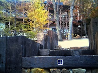 施行事例 Jardin moderne par 自然景観設計舎.LTD Moderne