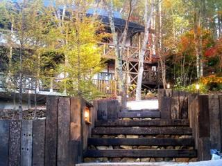 施行事例 自然景観設計舎.LTD สวน