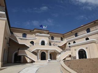 DOMUS DE MARIA Modern home by SERRAMENTI PIRAS Modern