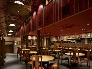 喜神菜館 アジア風レストラン の COCOON DESIGN INC. 和風