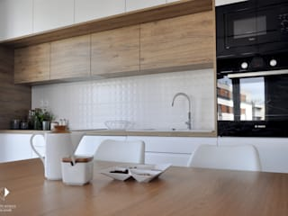 Modern kitchen by Architekt wnętrz Klaudia Pniak Modern