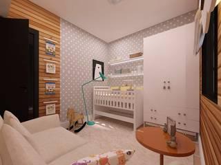 Nursery/kid's room by .Villa arquitetura e algo mais,