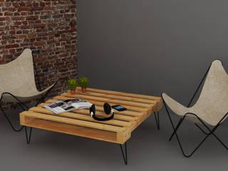 Mesa de centro:  de estilo  por Arquitecto Ariel Ramírez
