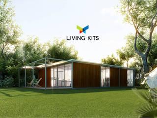 Moderne huizen van Casas Modernas | LIVING KITS Modern