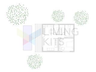 сучасний  by Casas Modernas | LIVING KITS, Сучасний