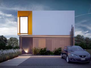 Taller Tres Casas modernas