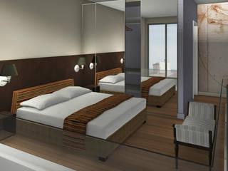 Modern style bedroom by CaB Estudio de Arquitectura Modern