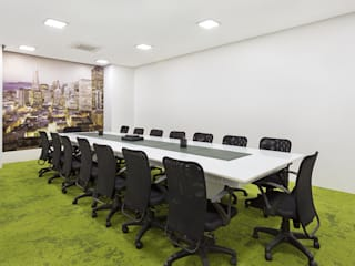 Interior design for an Office Modern study/office by Deodhar Associates Modern