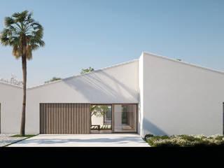 CASA DA ROCHA Casas de estilo mediterráneo de LUV Studio Mediterráneo