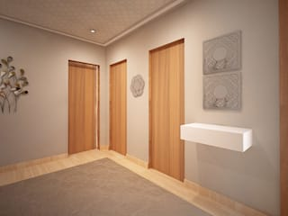Modern Corridor, Hallway and Staircase by GRAÇA Decoração de Interiores Modern