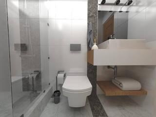 Baños de estilo moderno de ARQ. María Florencia Fernández Moderno