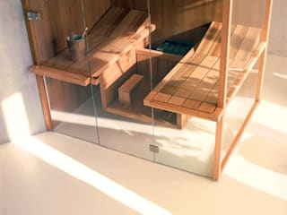New Effegibi Sauna Range and Visuals Steam and Sauna Innovation Офіс