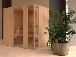 New Effegibi Sauna Range and Visuals Steam and Sauna Innovation Спальня