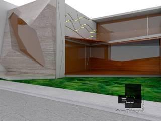 RESIDENCIA MITCHELLE Casas eclécticas de Sergio Villafuerte -ARQUITECTOS- Ecléctico