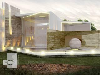 RESIDENCIA MIRÓ Casas eclécticas de Sergio Villafuerte -ARQUITECTOS- Ecléctico