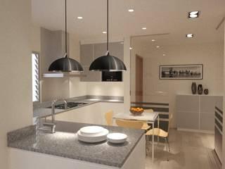 Kitchen by Estudio Arquitectura Ricardo Pérez Asin, Modern