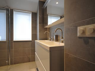 AGZ badkamers en sanitair Bagno moderno Piastrelle Grigio