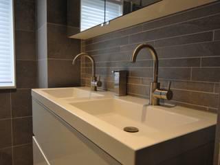 AGZ badkamers en sanitair Bagno moderno Metallizzato/Argento