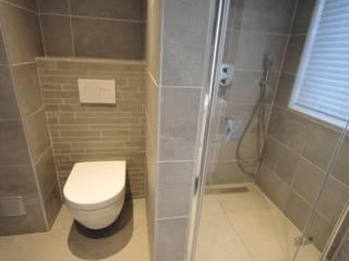 inloopdouche Alkmaar - AGZ badkamers en sanitair: moderne Badkamer door AGZ badkamers en sanitair