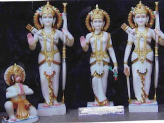 Marble Handicrafts: asian  by Vinod Murti Museum,Asian