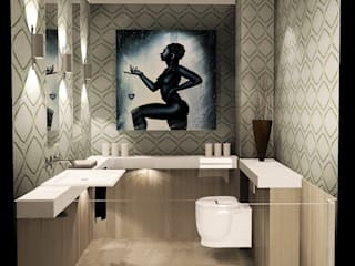 Eclectic style bathroom by Carlos Roncero Showroom Eclectic