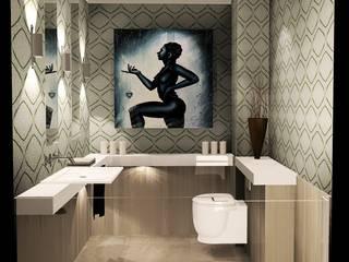 proyecto piso Las Tablas: Baños de estilo  de Carlos Roncero Showroom