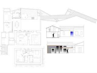 casa studio:  in stile  di FS design