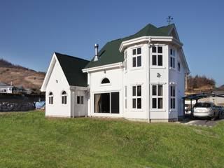 동화 속에 나오는 언덕 위 나의 집(충주 괴동리) 스칸디나비아 주택 by 윤성하우징 북유럽