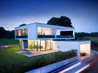 Klaus Geyer Elektrotechnik Casas de estilo moderno