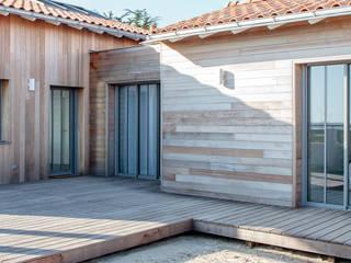 AUQ Maisons modernes par Matthieu GUILLAUMET Architecte Moderne