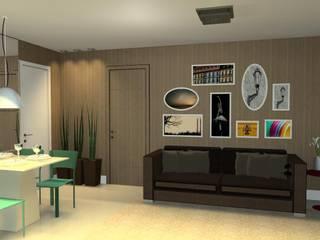 Projeto de Interiores: Salas de estar  por Layla Araújo Arquitetura,